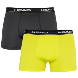 2PACK pánské boxerky HEAD vícebarevné (871001001 007)