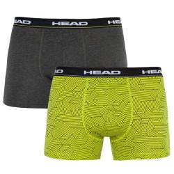 2PACK pánské boxerky HEAD vícebarevné (801004001 007)