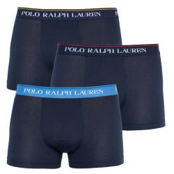 3PACK pánské boxerky Ralph Lauren modré (714662050049)