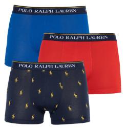 3PACK pánské boxerky Ralph Lauren vícebarevné (714662050057)