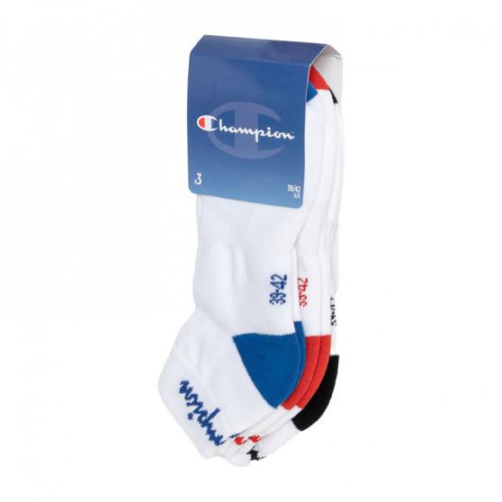 3PACK ponožky Champion bílé (Y082D)