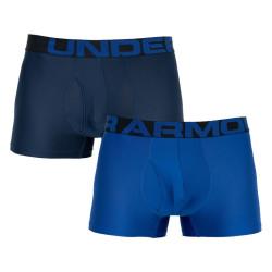 2PACK pánské boxerky Under Armour nadrozměr modré (1327414 400)
