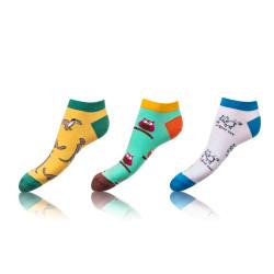 3PACK ponožky Bellinda vícebarevné (BE491005-319)