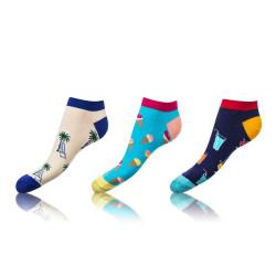 3PACK ponožky Bellinda vícebarevné (BE491005-309)