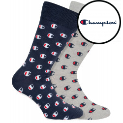 2PACK ponožky Champion vícebarevné (Y09LN)