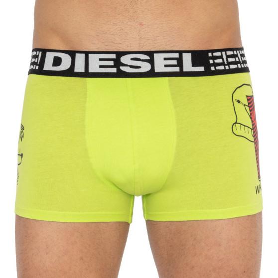 Pánské boxerky Diesel zelené (00CIYK-0BAYX-21C)