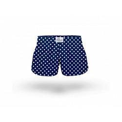 Dětské trenky ELKA modré s malým puntíkem (B0036)