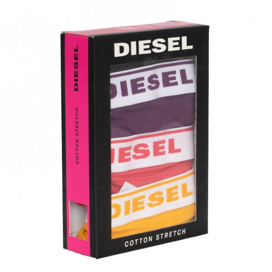3PACK Dámská tanga Diesel vícebarevné (00SE0K-0EAUF-E4964)
