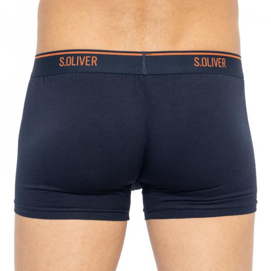 3PACK pánské boxerky S.Oliver modré (26.899.97.5623.12L3)
