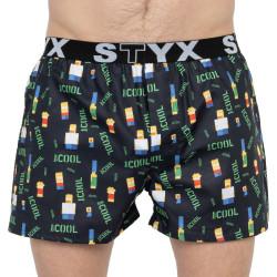 Pánské trenky Styx art sportovní guma Prima Cool (B951)