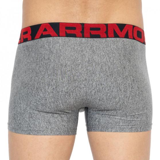 2PACK pánské boxerky Under Armour nadrozměr šedé (1327414 011)