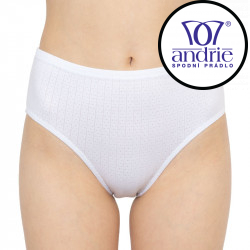 Dámské kalhotky Andrie bílé (PS 2621f)