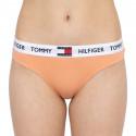 Dámská tanga Tommy Hilfiger oranžová (UW0UW02198 TD9)