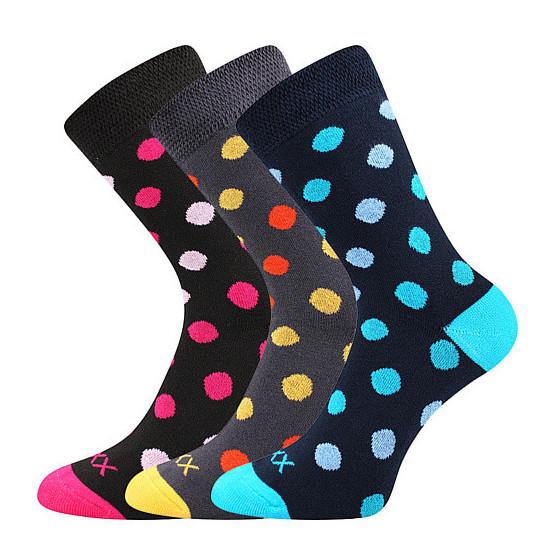 3PACK ponožky VoXX vícebarevné (Ofélie mix A)