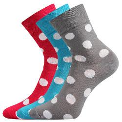 3PACK ponožky Boma vícebarevné (Ivana 62)