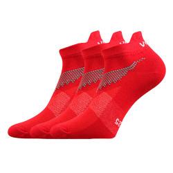 3PACK ponožky Voxx červené (Iris)