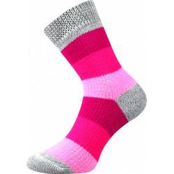 Ponožky Boma růžové (Spací ponožky 01)