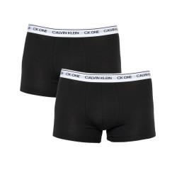2PACK pánské boxerky CK ONE černé (NB2385A-BNM)