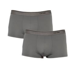 2PACk pánské boxerky CK ONE šedé (NB2387A-5GS)