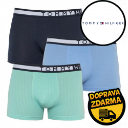 3PACK pánské boxerky Tommy Hilfiger vícebarevná (UM0UM01565 0S0)