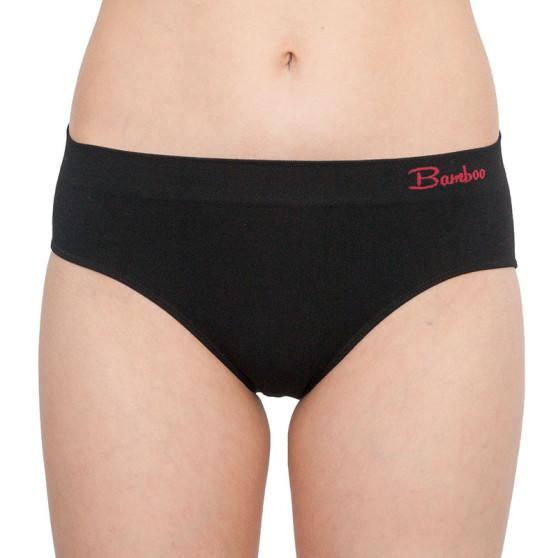 Dámské bambusové kalhotky Gina černé (00041)