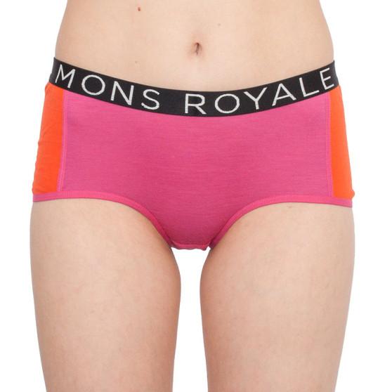 Dámské kalhotky Mons Royale merino růžové (100043-1016-139)