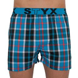 Pánské trenky Styx sportovní guma vícebarevné (B814)