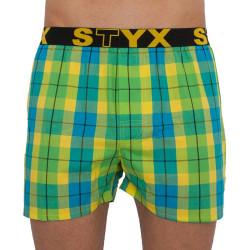 Pánské trenky Styx sportovní guma vícebarevné (B813)