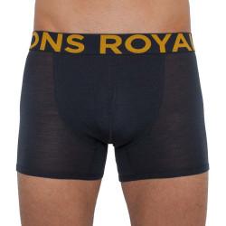 Pánské boxerky Mons Royale merino tmavě šedé (100087-1075-012)