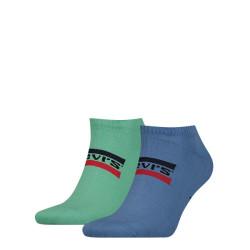 2PACK ponožky Levis vícebarevné (903015001 015)