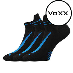 3PACK ponožky VoXX černé (Rex 10)