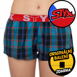 Dámské trenky Styx sportovní guma vícebarevné (T819)