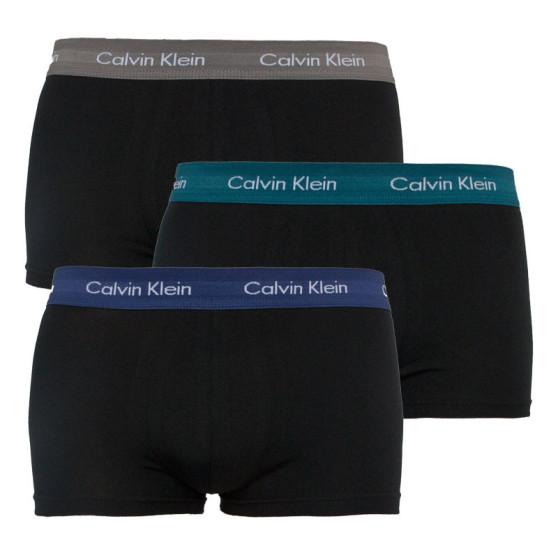 3PACK pánské boxerky Calvin Klein černé (U2664G-SZM)