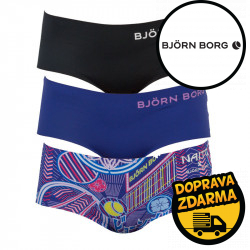 3PACK dámské kalhotky Bjorn Borg vícebarevné (2021-1195-60671)