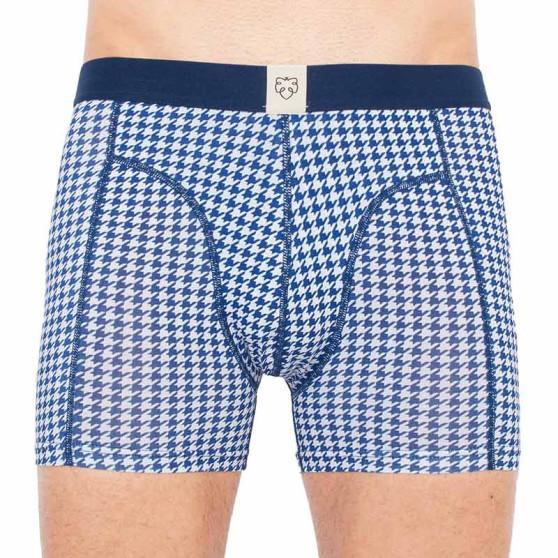 Pánské boxerky A-dam modré (SCHELTO)