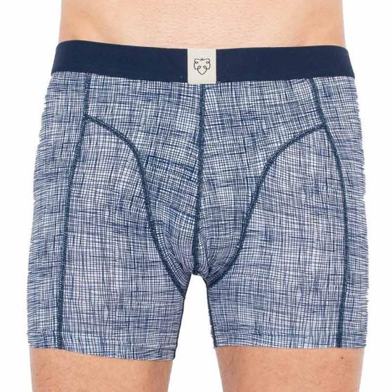 Pánské boxerky A-dam modré (ANTOON)