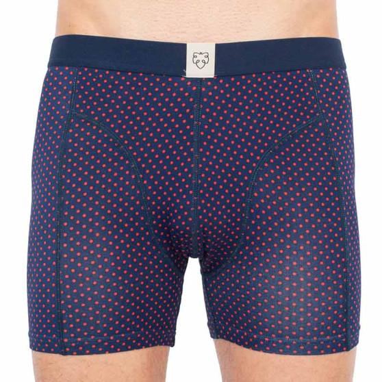 Pánské boxerky A-dam modré (AP)