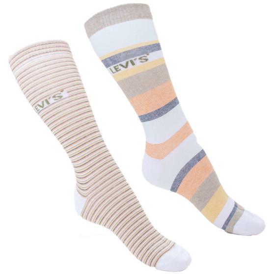2PACK ponožky Levis vícebarevné (903026001 010)