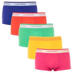 5PACK pánské boxerky CK ONE vícebarevné (NB2206A-FCP)