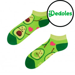 Veselé ponožky Dedoles Avokádová láska krátké GMLS053 (Good Mood)