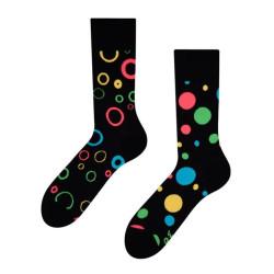 Veselé ponožky Dedoles Neonové tečky GMRS084 (Good Mood)