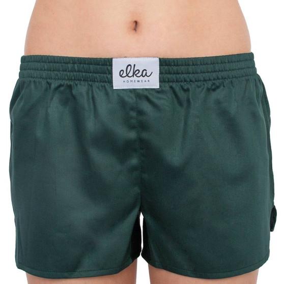 Dámské trenky ELKA tmavě zelené (D0057)
