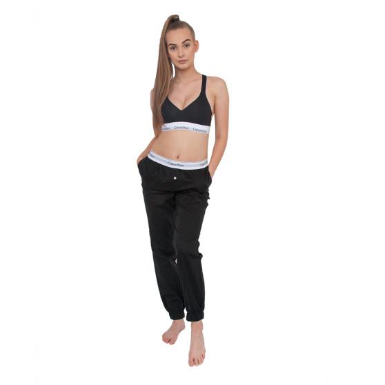 Dámské kalhoty na spaní Calvin Klein černé (QS5934E-001)