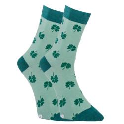 Veselé ponožky Dots Socks čtyřlístek (DTS-SX-424-Z)