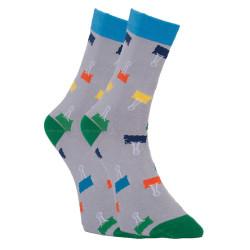 Veselé ponožky Dots Socks sponky (DTS-SX-429-S)