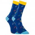 Veselé ponožky Dots Socks sponky (DTS-SX-428-G)