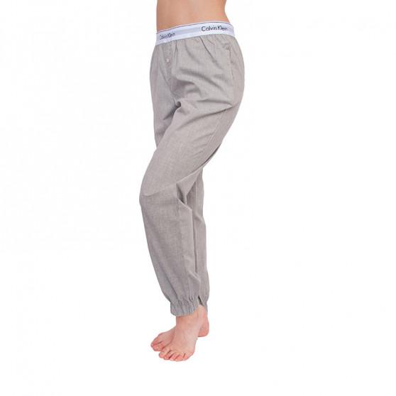 Dámské kalhoty na spaní Calvin Klein šedé (QS5934E-020)