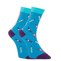 Veselé ponožky Dots Socks hodinky (DTS-SX-408-G)