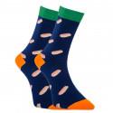 Veselé ponožky Dots Socks hot dog (DTS-SX-443-G)