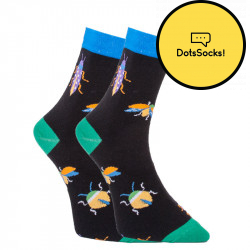 Veselé ponožky Dots Socks s broučky (DTS-SX-417-C)